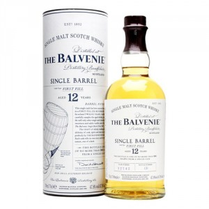 BALVENIE SINGLE BARREL 12 YO