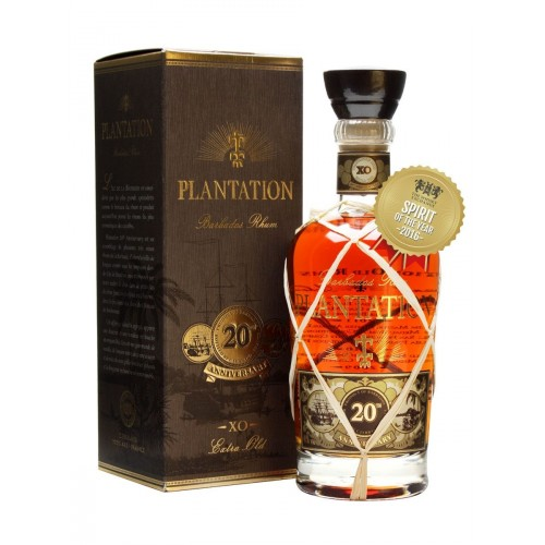 PLANTATION EXTRA OLD BARBADOS RUM 20th Anniversary