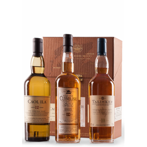 CLASSIC MALTS COASTAL COFFRET 3 X 200 ml