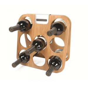 Suport lemn 8 sticle