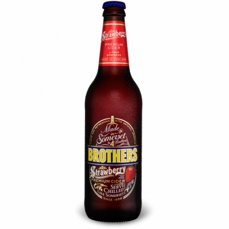 12 st X Brothers Strawberry Cider 0.5 L