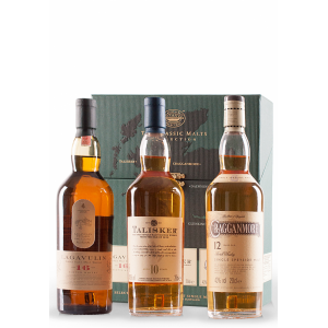 CLASSIC MALTS STRONG COFFRET 3 X 200 ml